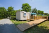 Rental - Mobil-home Life Premium 32m² PREMIUM - 2 bedrooms (adapted to the people with reduced mobility) - Flower Camping L'Abri-Côtier