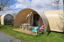 Huuraccommodaties - Coco Sweet 16M² Confort+ - 2 Slaapkamers (Zonder Privé Sanitair) - Flower Camping L'Abri-Côtier