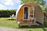 Rental - Coco Sweet 11m² CONFORT+ - 1 bedroom (without toilet blocks) - Flower Camping L'Abri-Côtier