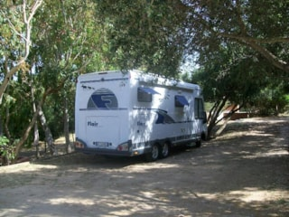 Pitch - Caravan - Camping Car, With Two People And Current 3A