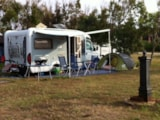 Pitch - Pitch - Caravan - Camping Car, with two people and current 3A - Camping La Liccia