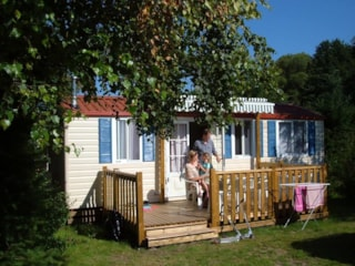 Cottage  Chêne 24 M² With Terrace And Air-Conditioning
