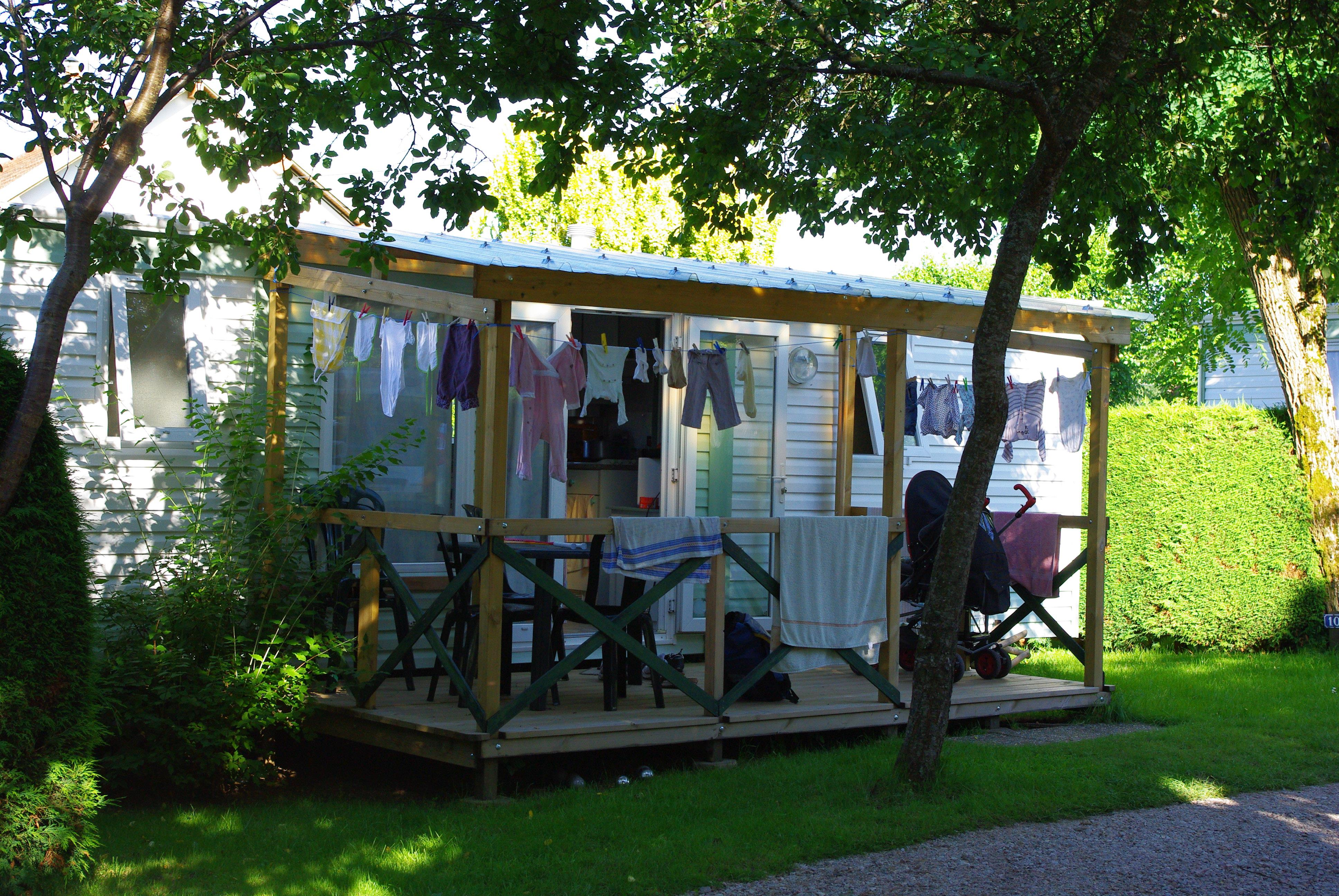 Location - Mobilhome - Camping Les Deux Pins