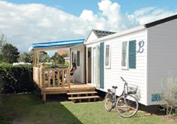 Accommodation - Cottage Prestige - 3 Bedrooms With Sheets/Tv Set (From Sunday To Sunday In July And August) - Camping Le Point du Jour