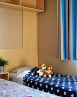Rental - Mobilhome IRM LOGGIA 25m² 2 bedrooms + TV + sheltered terrace - Flower Camping LA STENIOLE