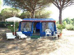 Udlejning - Tenda Mirto - Chalet Tent (25 M²) - Village Camping S'Ena Arrubia