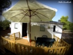 Huuraccommodaties - Casa Fenicottero - with air conditioning - Village Camping S'Ena Arrubia