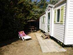Huuraccommodaties - Stacaravan Family 27.5M² / 2 (Slaap)Kamers - Camping Les Paillotes en Ardèche