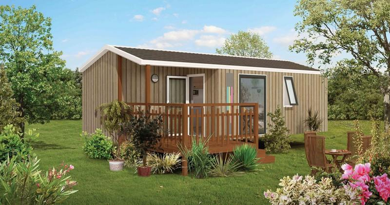Mobil-Home Family Plus 27 m² / 2 chambres / Terrasse