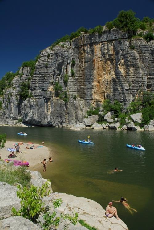 Camping les Paillotes ****, Ruoms, Ardèche