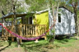 Rental - Mobil home Evolution 27 2 bedrooms + covered terrace Sunday/Sunday - Camping les Actinidias