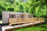 Rental - Mobil Home Optimeo 2 Bedrooms + Terrace With A Disabled Acces - Camping les Actinidias
