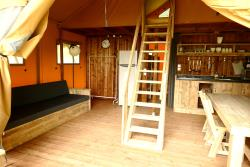 Glamping Lodge Tent luxe Premium 61 m² - 2 bedrooms