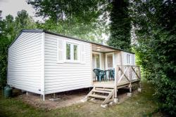 Rental - Mobilhome  Hergo 2 bathrooms - Camping Le Tiradou