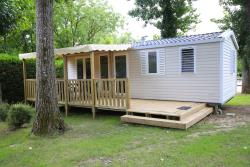 Rental - Mobile home 3 bedrooms - Camping Le Tiradou