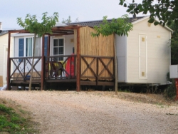 Mobil home 25 m² / 2 bedrooms - Terrace and with air-conditioning