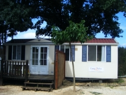 Mobil home 30 m² / 2 bedrooms - Terrace and with air-conditioning