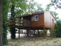 Chalet on piles 30 m² / 1 bedroom