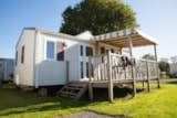 Rental - Mobile-home GRAND CONFORT 30m² - 2 bedrooms - Camping Les Alizés