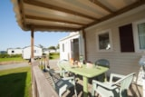 Rental - Mobile-home GRAND CONFORT 27m² - 2 bedrooms - Camping Les Alizés