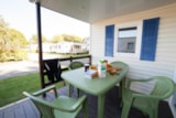 Rental - Mobile-home ECO 25m² - 2 bedrooms - Camping Les Alizés