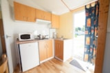 Rental - Mobile-home CONFORT 22m² - 1 bedroom (without TV) - Camping Les Alizés