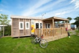 Rental - Mobile home Premium EXOTIC 30m² - 2 bedrooms - Camping Les Alizés