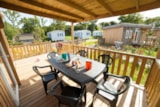 Rental - Mobile home Premium EXOTIC 32m² - 3 Bedrooms - Camping Les Alizés