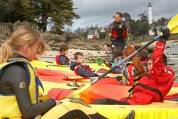Sport activities Camping Le Helles - Combrit Ste Marine