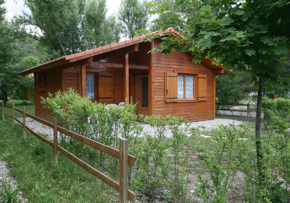 Chalet 5 people, 2 bedrooms, terrace, 388ft²