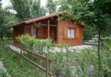 Rental - House: 2 Bedrooms, Bathroom, Wc, Kitchen - Camping Les Rives du Lac