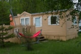Rental - Mobile-Home : 2 Bedrooms, Bathroom, Wc, Kitchen - Camping Les Rives du Lac