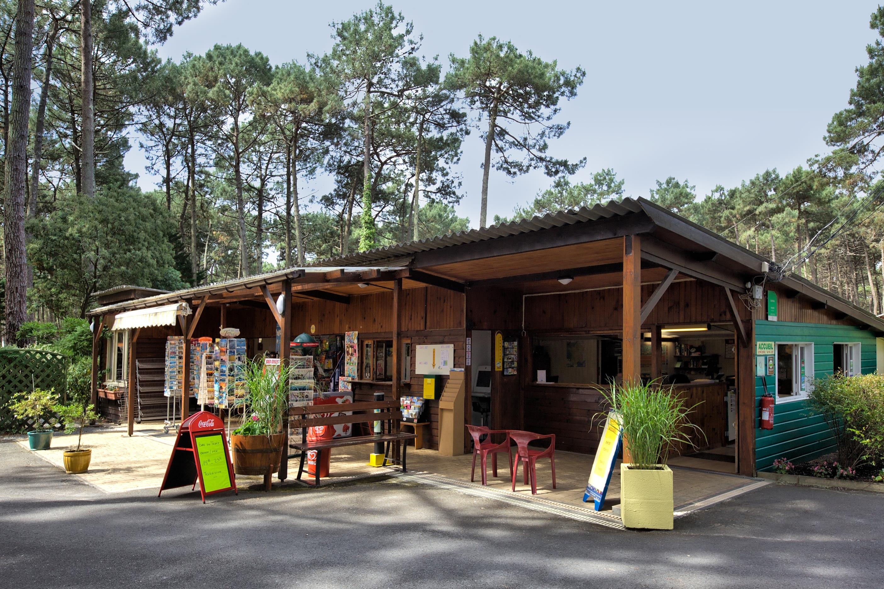 Services & amenities Camping Le Tedey - Lacanau