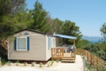 Rental - Mobile home saturday-saturday 28m² / 2 bedrooms / Terrace - Camp du Domaine