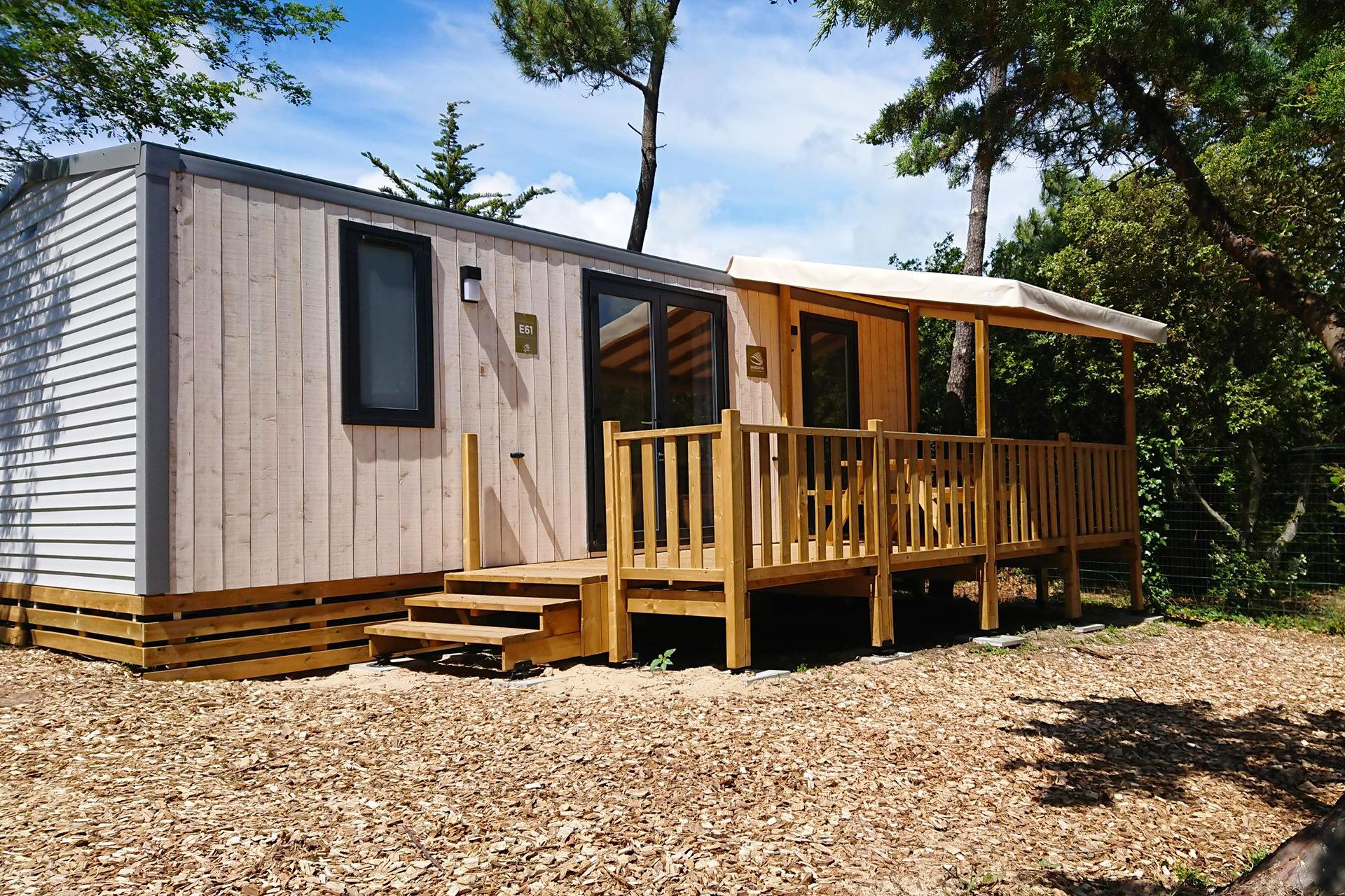 Location - Cottage 2 Chambres *** - Camping Sandaya Domaine Le Midi