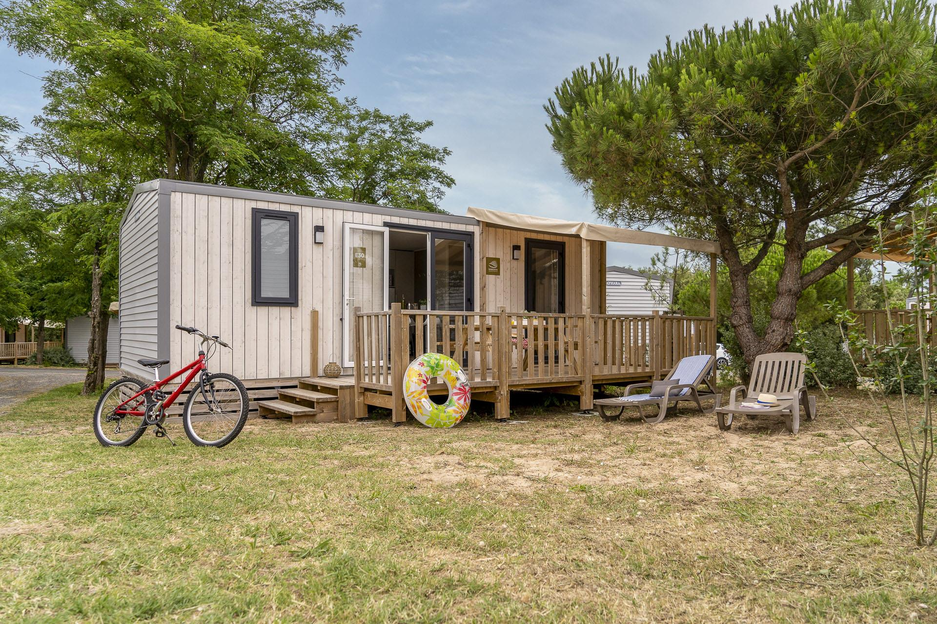 Location - Cottage 3 Chambres*** - Camping Sandaya Domaine Le Midi