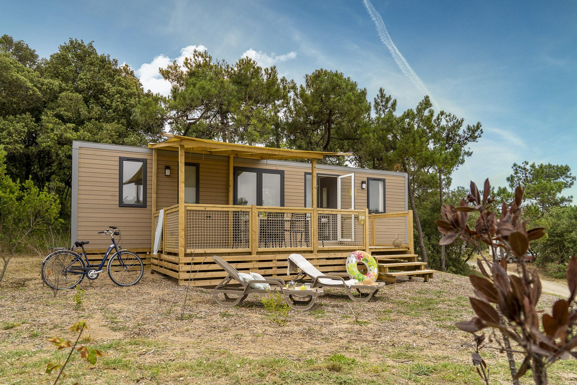 Location - Cottage 3 Chambres **** - Camping Sandaya Domaine Le Midi