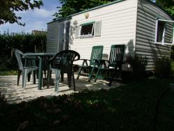 Rental - MOBILE HOME BAMBI without toilet blocks - CAMPING LA BASTIDE