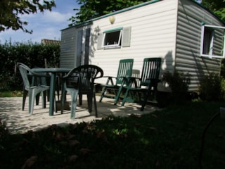 Mobile Home Bambi 15 M² (2 Bedrooms - Without Toilet Blocks)