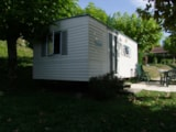 Rental - MOBILE HOME BAMBI 15 m² (2 bedrooms - without toilet blocks) - CAMPING LA BASTIDE
