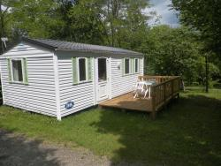 Huuraccommodaties - Mobil home Ohara 2 chambres - Camping Le Convivial