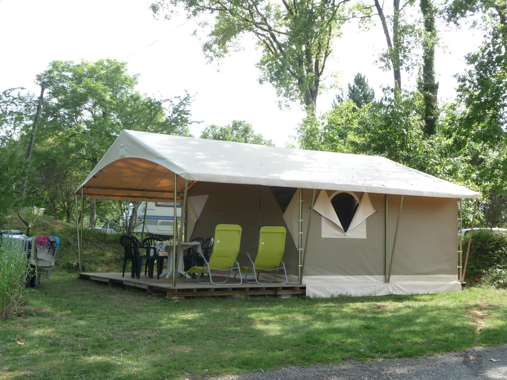 Location - Tente Lodge Canada - Camping La Fage