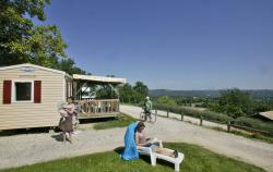 Rental - Mobile home with view - Camping LES TERRASSES DU PERIGORD