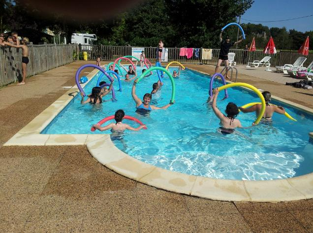 Mare, piscina Camping Le Bosquet - Domme