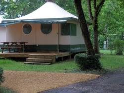 Rental - Canvas bungalow KIWI - Camping la Cabane