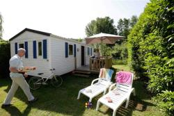 Rental - Mobile home 2 bedrooms with terrace 27m² - Camping Les Granges