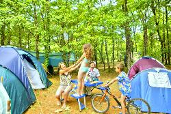 Pitch - Nature Package (1 tent, caravan or motorhome / 1 car) no elec - Camping Lou Castel