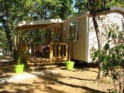 Rental - Mobile Home Family3 bedrooms 35m² + sheltered terrace - Camping Lou Castel