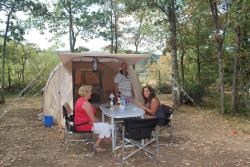Rental - Tent KARSTEN - without toilet blocks - Camping La Peyrugue