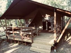 Rental - Tent SAFARI - without toilet blocks - Camping La Peyrugue